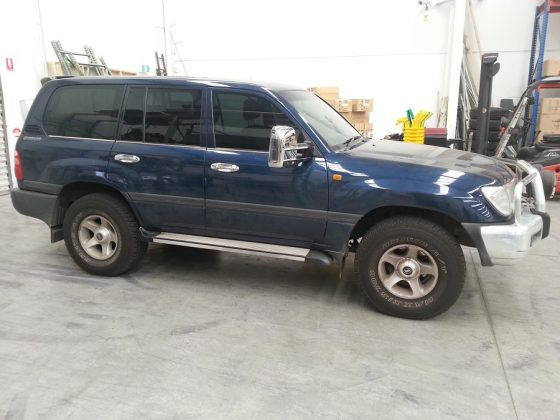 TOYOTA LANDCRUISER 100 SERIES TheUTEShop Products