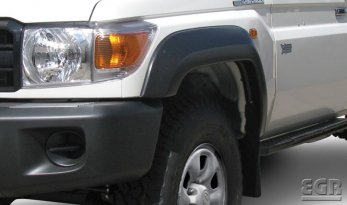 Toyota Landcruiser 70 series Front Flares TheUTEShop Products