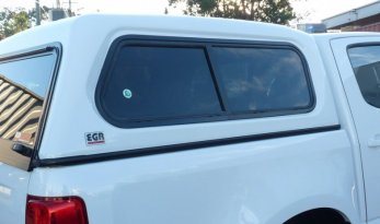 D-Max FLEET Dual Slide Window Canopy TheUTEShop Products