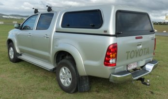 Toyota Hilux 05~15 Lift Up Window Fleet Canopies TheUTEShop Products