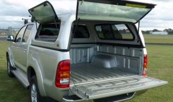 Toyota Hilux 05~15 Slide/Lift Window Fleet Canopies TheUTEShop Products