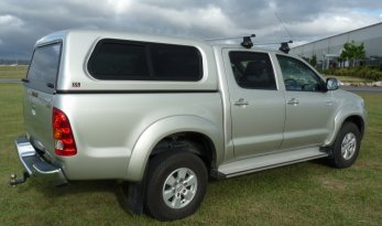 Toyota Hilux 05~15 Sliding Window Fleet Canopies TheUTEShop Products