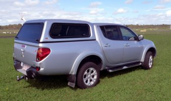 Mitsubishi Triton MN Fleet Canopy - Lift Windows TheUTEShop Products