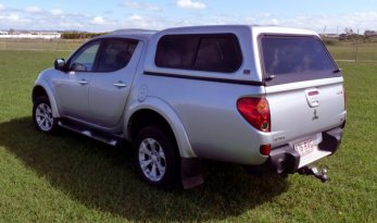 Mitsubishi Triton MN Fleet Canopy - Slide Windows TheUTEShop Products