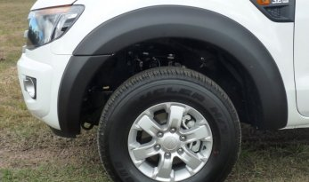 Ford PX Ranger Front Flares - Matte Black - 2011 to May 2015 TheUTEShop Products