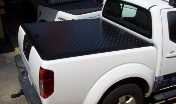 Nissan D40 Navara Dual Cab Load Shield - BLACK TheUTEShop Products