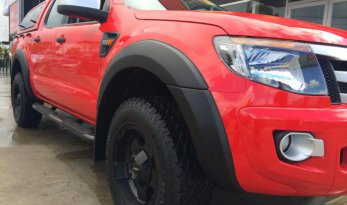 Ford PX Ranger MkII Fender Flares - Full Set - Unpainted TheUTEShop Products
