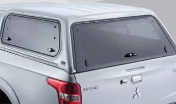Mitsubishi MQ Triton Double Cab Canopy - Sliding Windows TheUTEShop Products