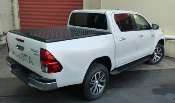 Toyota Hilux 2015~ A-Deck Dual Cab Load Shield - Silver TheUTEShop Products