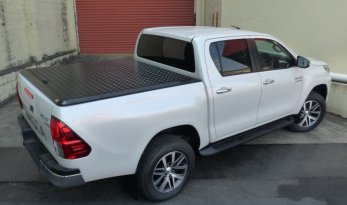 Toyota Hilux 2015~ A-Deck Dual Cab Load Shield - Black TheUTEShop Products