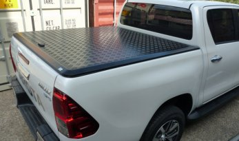 Toyota Hilux 2015~ J-Deck Dual Cab Load Shield - Black TheUTEShop Products
