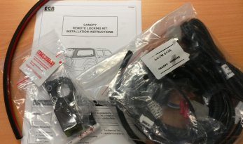 2012~ Isuzu D-Max Canopy Remote Locking Kit TheUTEShop Products