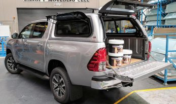 Toyota Hilux 2015~ A-Deck Premium Lift Up Window Canopy TheUTEShop Products