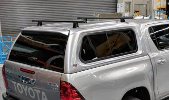 Toyota Hilux 2015~ A-Deck Premium Lift/Slide Window Canopy TheUTEShop Products