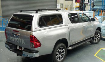 Toyota Hilux 2015~ A-Deck Premium Sliding Window Canopy TheUTEShop Products