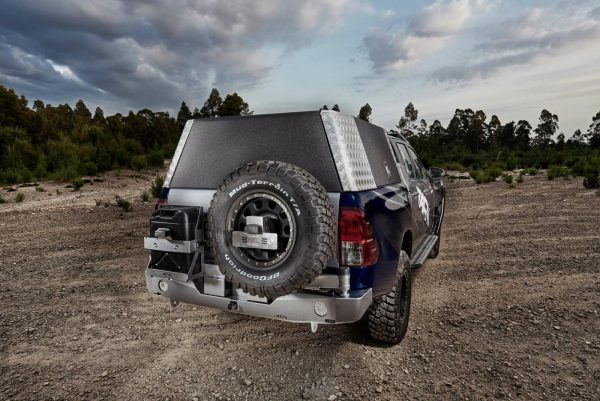 TOYOTA HILUX REVO (N80) 2015+ (Wide Body) WHEEL CARRIER & JERRY HOLDER TheUTEShop Products