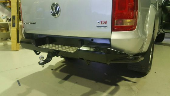 Volkswagen Amarok REAR STEP BAR TheUTEShop Products