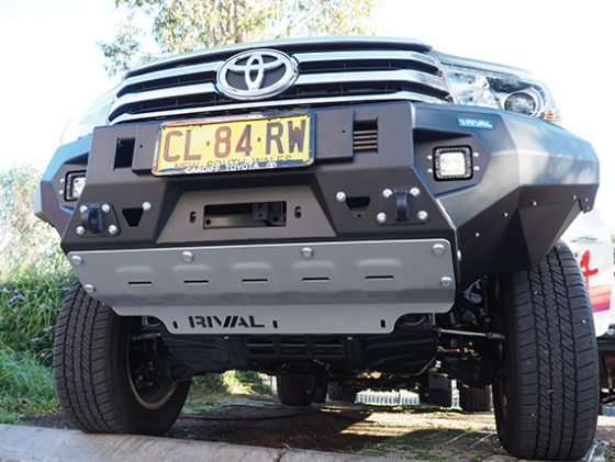 DT-2D57011BNL Drivetech 4x4 Bumper by Rival (Hilux GUN126) TheUTEShop Products
