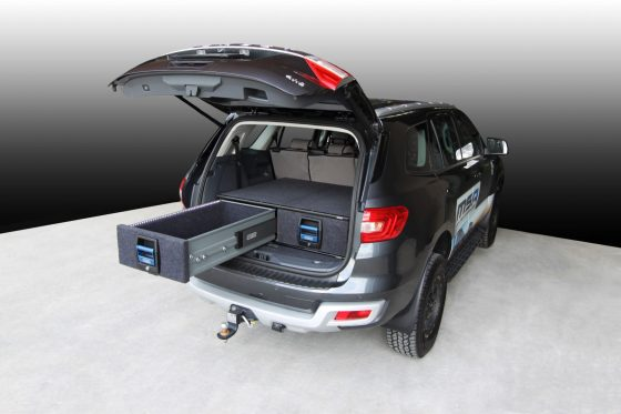Ford Everest Double Drawer System TheUTEShop Products