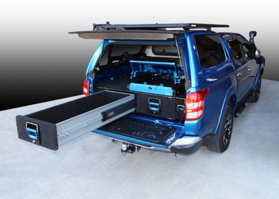 Mitsubishi Triton MQ Double Drawer System TheUTEShop Products
