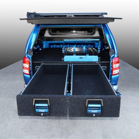 Mitsubishi Triton MQ Double Drawer System TheUTEShop Products