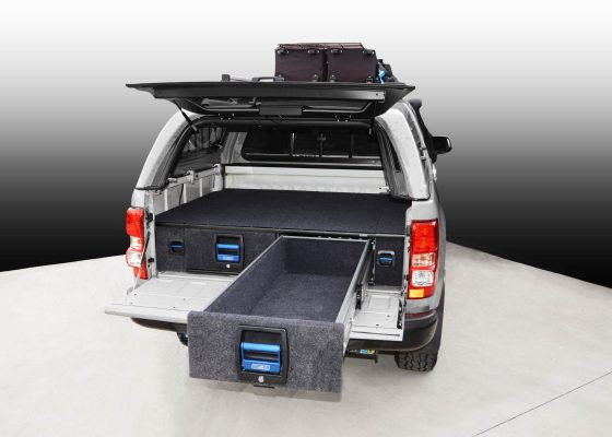 Holden Colorado RG / Isuzu DMAX Double Drawer System TheUTEShop Products