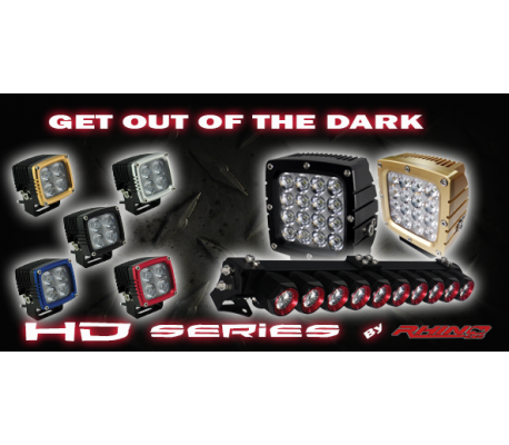 HD SERIES LED WORK LIGHTS(35W) TheUTEShop Products