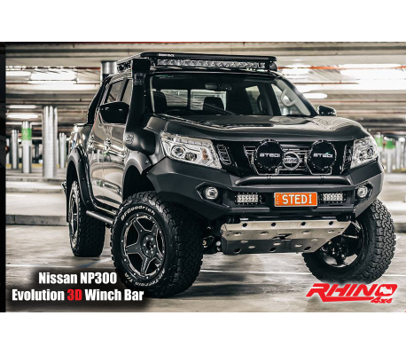 NISSAN NAVARA NP300 FRONT BAR TheUTEShop Products
