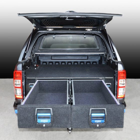 Ford Ranger / Mazda BT50 Double Drawer System TheUTEShop Products