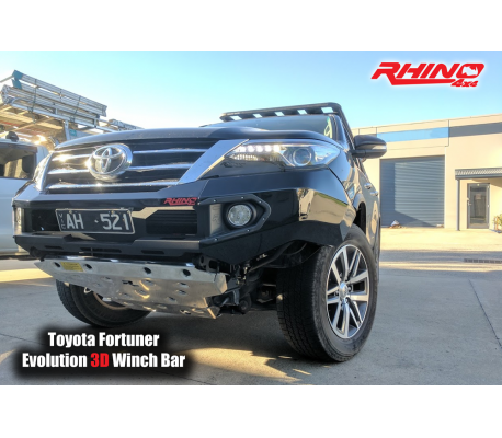 TOYOTA FORTUNER 16+ FRONT BAR TheUTEShop Products