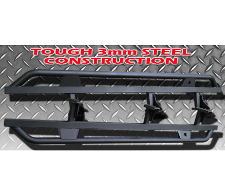 TOYOTA HILUX 2005+ ROCK SLIDERS TheUTEShop Products