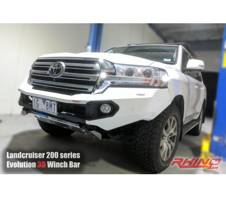TOYOTA LANDCRUISER 16+ (FACELIFT) FRONT BAR TheUTEShop Products