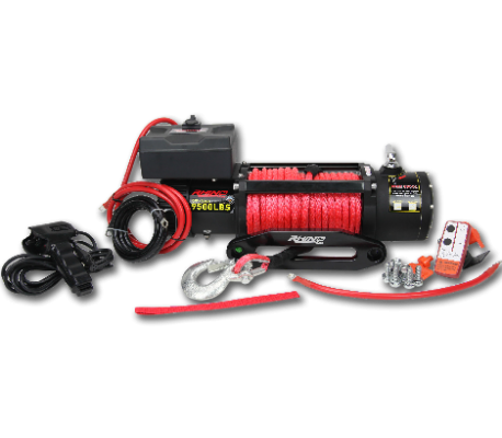 RHINO4X4 WINCH 9500LB TheUTEShop Products