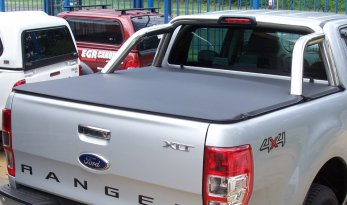 FORD RANGER PX NO DRILL SOFT TONNEAU - SPORTS BARS TheUTEShop Products