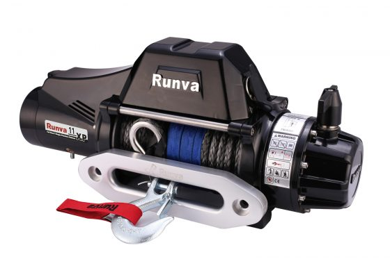 Runva 11XP TF PREMIUM 12V with Synthetic Rope - full IP67 protection TheUTEShop Products