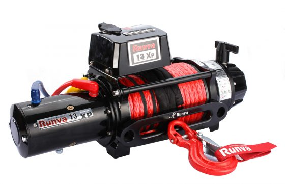 Runva 13XP PREMIUM 12V with Synthetic Rope - full IP67 protection TheUTEShop Products