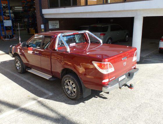 Manual Locking Hard Lid – Mazda BT-50 Space Cab Sports Bars TheUTEShop Products
