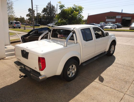 Manual Locking Hard Lid – Nissan Dual Cab D40 Navara TheUTEShop Products