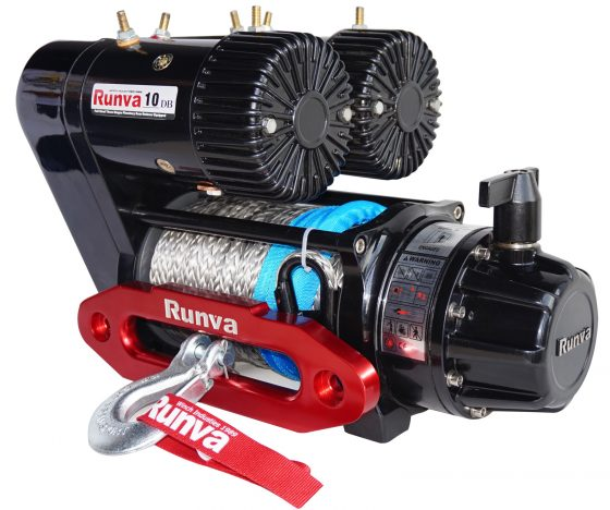 Runva EWS10000 PREMIUM 12V with Synthetic Rope - full IP67 protection TheUTEShop Products