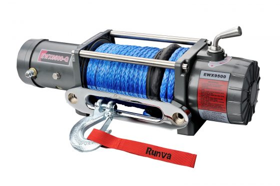 Runva EWX9500-Q 12V EVO with Synthetic Rope TheUTEShop Products