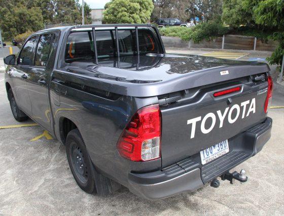 PREMIUM Manual Locking Hard Lid – Suits Toyota Dual Cab J Deck Hilux Revo TheUTEShop Products