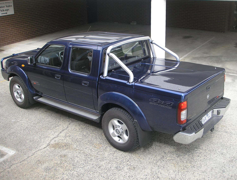 3pc Hard Lid Nissan Dual Cab D22 Navara The Ute Shop