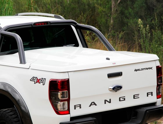 HSP PREMIUM Manual Locking Hard Lid – Ford Dual Cab PX Ranger TheUTEShop Products