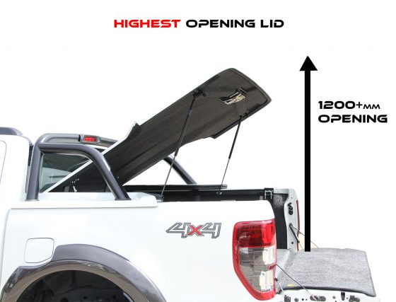PREMIUM Manual Locking Hard Lid – Holden Dual Cab RG Colorado TheUTEShop Products