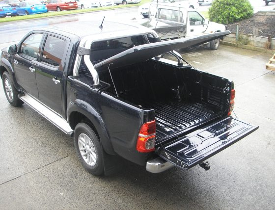 Manual Locking Hard Lid – Suits Toyota Dual Cab Hilux Vigo TheUTEShop Products