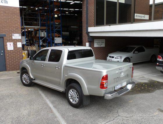 Manual Locking Hard Lid – Suits Toyota Dual Cab J – Deck Hilux Vigo TheUTEShop Products