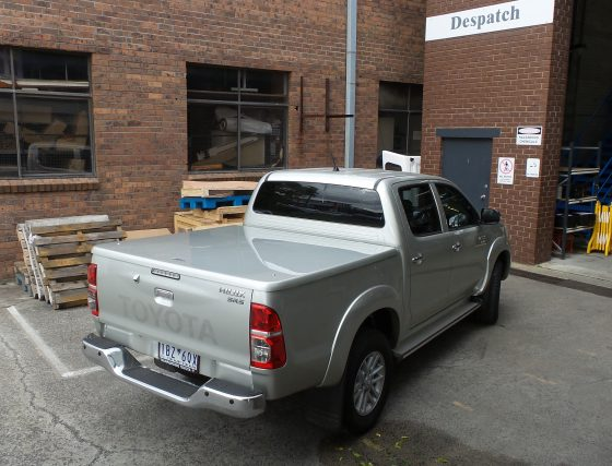 Manual Locking Hard Lid – Suits Toyota Dual Cab Hilux Vigo TheUTEShop Products