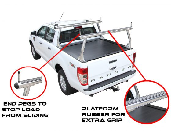 ROLL R COVER- Ford PX Dual Cab Ranger (P4R) TheUTEShop Products