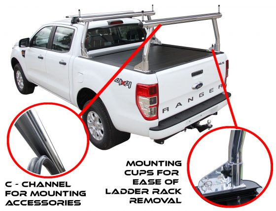 ROLL R COVER- Ford PX Dual Cab Ranger Sports Bars (P42R) TheUTEShop Products