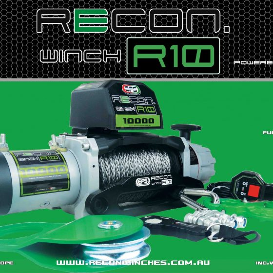 EFS RECON R10 WINCH TheUTEShop Products